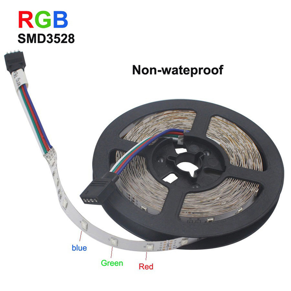 RGB SMD 3528 LED Light String with Flexible Belt for Home//Wedding Decoration