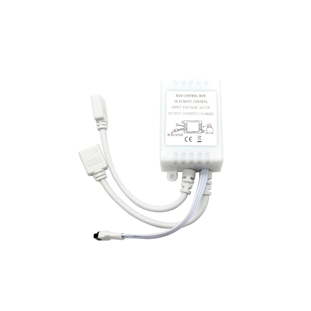 44 key remote controller ir control box 2 output for 12v rgb 5050 smd led strip