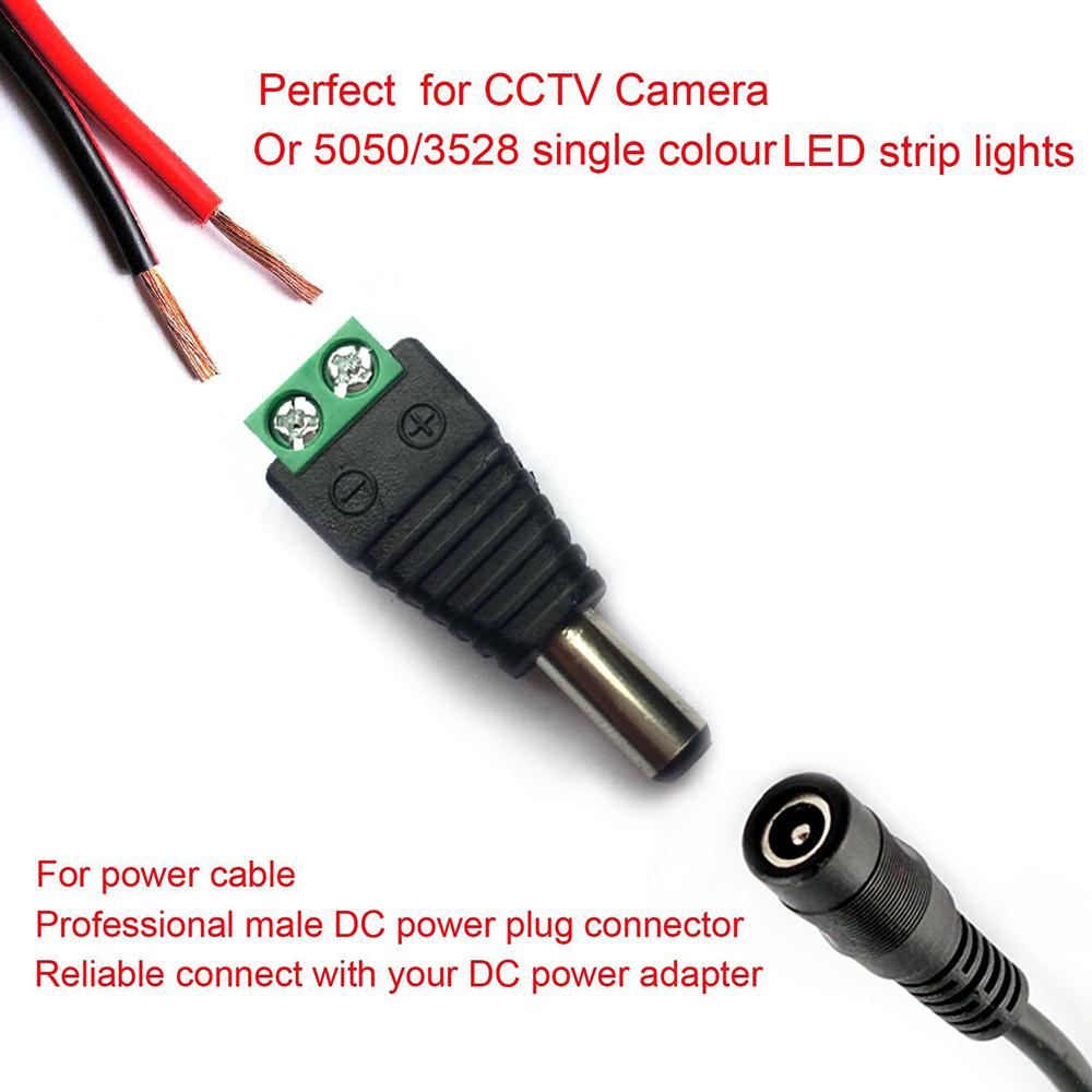 12V Zigarettenanzünder Adapter mit DC Stecker für LED Strip Lights für den Außen