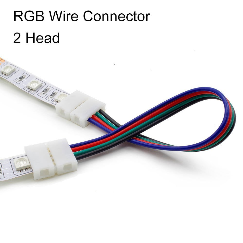 Extension Wire Connector Cable Cord For 3528 5050 Rgb Led Strip Ebay